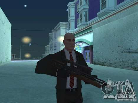WALTHER 2000 HD pour GTA San Andreas troisième écran