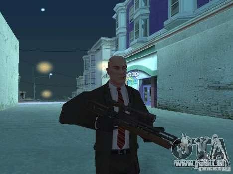 WALTHER 2000 HD für GTA San Andreas dritten Screenshot