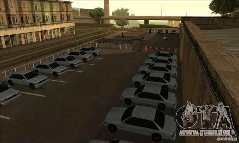 Renouvellement des auto-écoles à San Fierro pour GTA San Andreas deuxième écran
