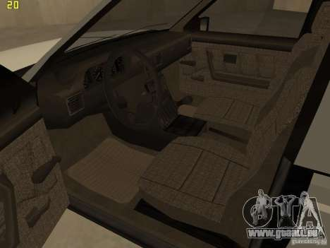 FSO Polonez Caro pour GTA San Andreas vue intérieure