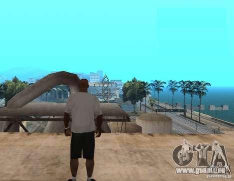 WWE RKO-t-shirt für GTA San Andreas zweiten Screenshot