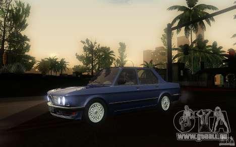 BMW E28 525e ShadowLine Stock pour GTA San Andreas