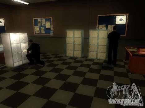 L'entrée de la zone de police à San Fierro pour GTA San Andreas troisième écran