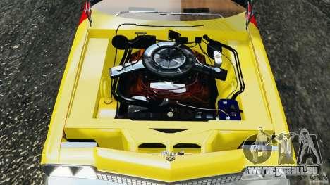 Dodge Monaco 1974 Taxi v1.0 pour GTA 4 vue de dessus