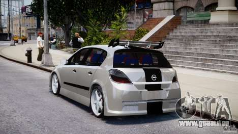 Opel Astra 1.9 TDI 2007 pour GTA 4 Vue arrière de la gauche