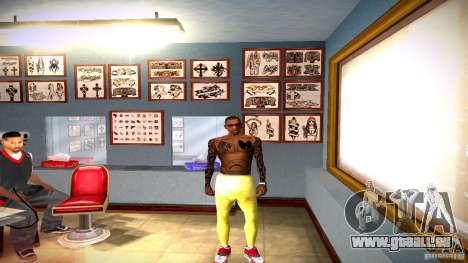 Trois nouveau tatouage pour GTA San Andreas sixième écran