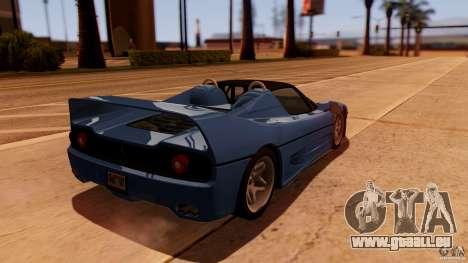 Ferrari F50 Coupe v1.0.2 für GTA San Andreas linke Ansicht