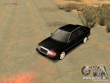 Mercedes-Benz E250 V1.0 pour GTA San Andreas vue intérieure