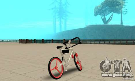 Wind Solar MT Bike für GTA San Andreas linke Ansicht