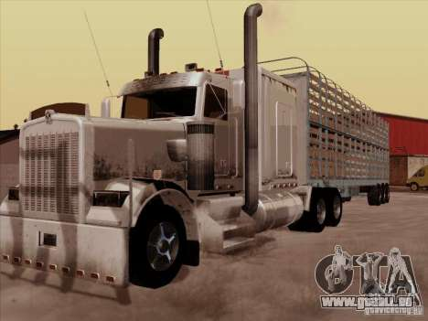 Kenworth W 900 RoadTrain pour GTA San Andreas