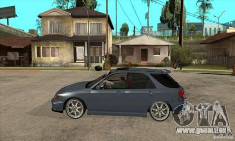 Subaru Impreza Universal pour GTA San Andreas laissé vue