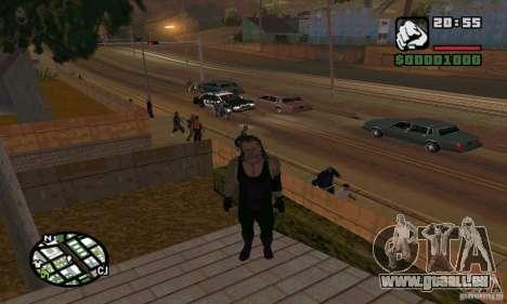 L'undertaker à Smackdown 2 pour GTA San Andreas sixième écran