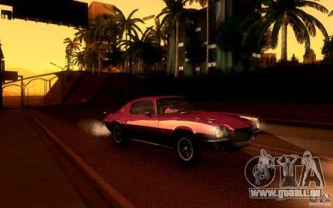 Chevrolet Camaro Z28 pour GTA San Andreas roue