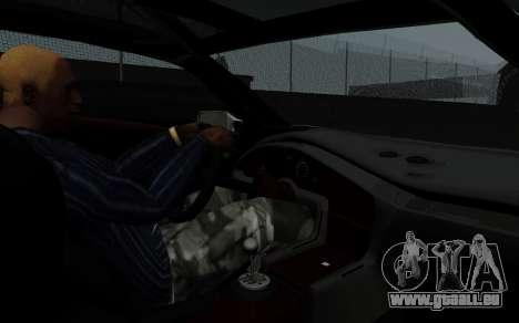Lamborghini Diablo GTR TT Black Revel pour GTA San Andreas vue arrière