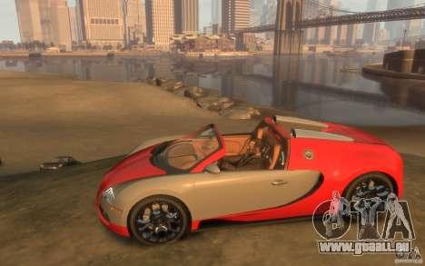 2009 Bugatti Veyron Grand Sport [EPM] für GTA 4 linke Ansicht