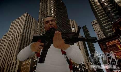 Das HK416 (automatisch) für GTA 4 siebten Screenshot