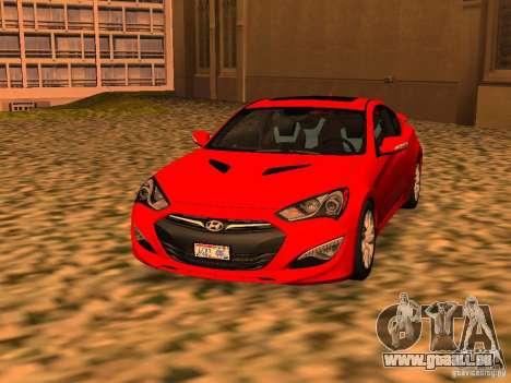 Hyundai Genesis Coupé 3.8 piste v1.0 pour GTA San Andreas