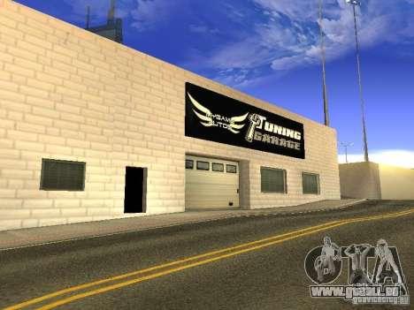 [HD] réseau de Garages MyGame Autos pour GTA San Andreas sixième écran