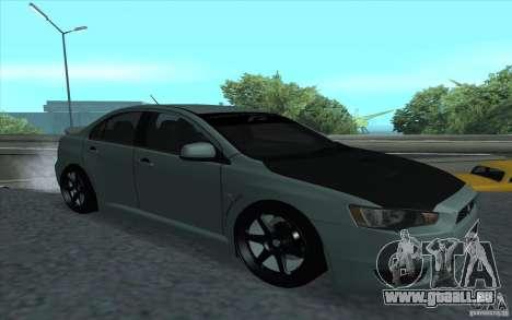 Proton Inspira Stance für GTA San Andreas Rückansicht