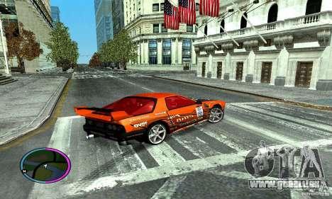 Mazda RX-7 FC for Drag pour GTA San Andreas vue de droite