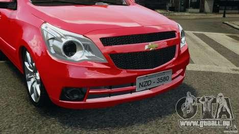 Chevrolet Agile für GTA 4 Innenansicht