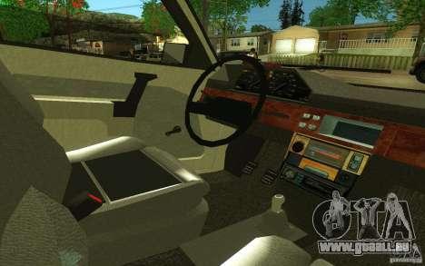 2141 AZLK v2.0 pour GTA San Andreas vue arrière