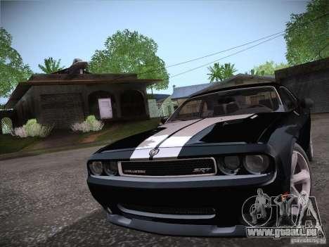 Dodge Challenger SRT8 v1.0 für GTA San Andreas