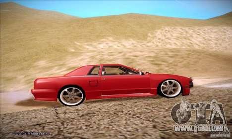 Elegy 180SX pour GTA San Andreas vue arrière