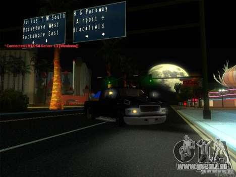 GMC C4500 Pickup DUB Style für GTA San Andreas Unteransicht