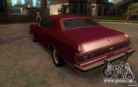 Ford Torino für GTA San Andreas zurück linke Ansicht