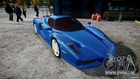 Ferrari Enzo für GTA 4 Rückansicht