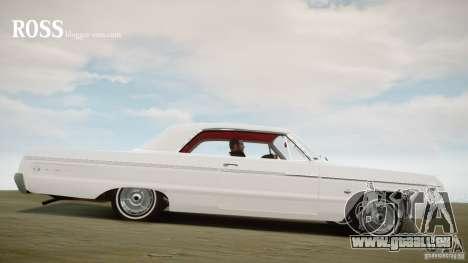 Chevrolet Impala SS 1964 pour GTA 4 est une gauche