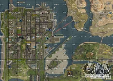 Karte von San Andreas mit Update v7 für GTA San Andreas dritten Screenshot