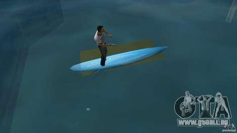 Surfboard 3 pour GTA Vice City sur la vue arrière gauche