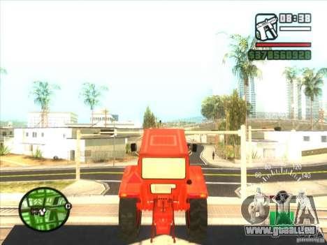 Traktor für GTA San Andreas rechten Ansicht