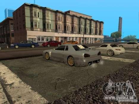 Élégie standard pour GTA San Andreas vue intérieure