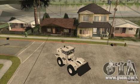 KIROVETS K701 Traktor Schlepper für GTA San Andreas zurück linke Ansicht