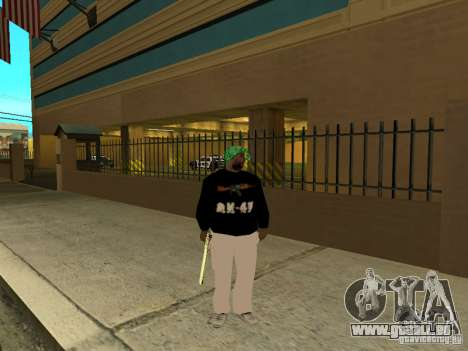 Mégalo épais pour GTA San Andreas deuxième écran