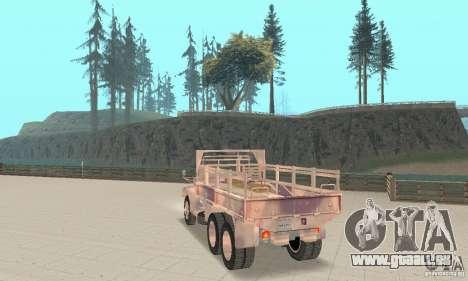 M352A 1986 pour GTA San Andreas laissé vue