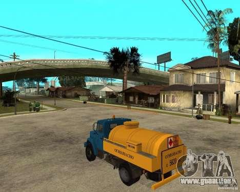 ZIL-433362 Extra Pack 2 für GTA San Andreas Rückansicht