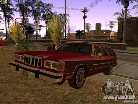 Mercury Grand Marquis Colony Park für GTA San Andreas