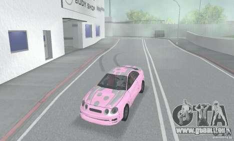 Toyota Celica GT4 2000 für GTA San Andreas Unteransicht