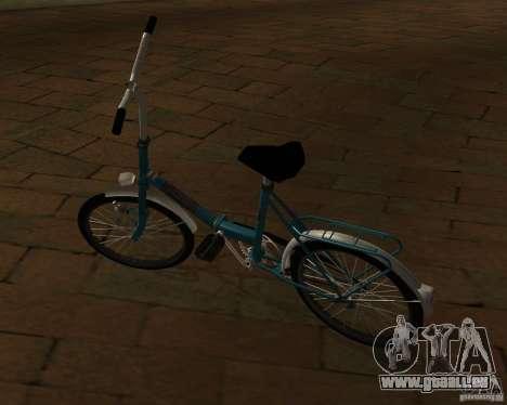 Romet Wigry 3 für GTA San Andreas zurück linke Ansicht