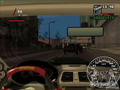 Subaru Impreza WRX Sti 2006 Elemental Attack für GTA San Andreas Seitenansicht
