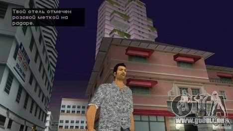 Marche GTA Vice City pour la troisième écran