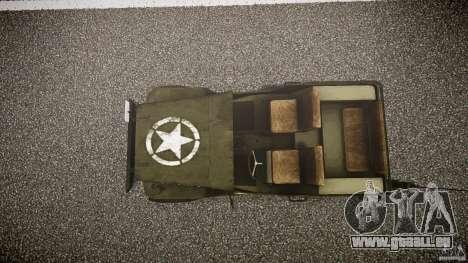 Walter Military (Willys MB 44) v1.0 pour GTA 4 est un droit