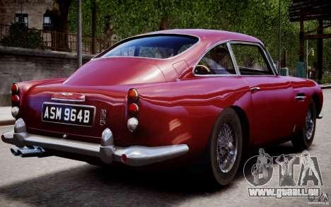Aston Martin DB5 1964 für GTA 4 Innen