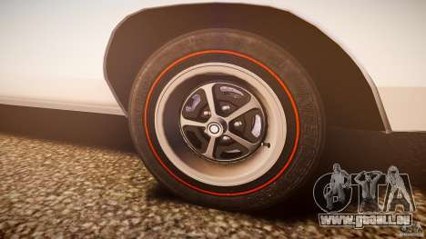 Dodge Charger RT 1969 v1.0 pour GTA 4 est une vue de dessous