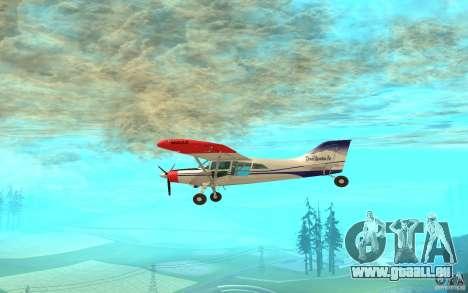 Maule Orion pour GTA San Andreas sur la vue arrière gauche