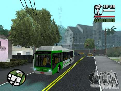 H Hibrido TUTTO 15M UPB C2 EX DR pour GTA San Andreas